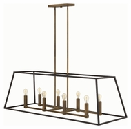 Hinkley 3338BZ Fulton Bronze Finish 48  Wide Island Lighting