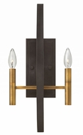 Hinkley 3460SB Euclid Spanish Bronze Wall Lamp