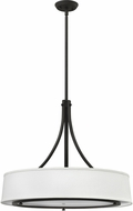 Hinkley 3705KZ Harrison Buckeye Bronze Drum Pendant Light Fixture