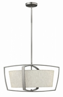 Hinkley 3794BN Blakely Modern Brushed Nickel Hanging Lamp