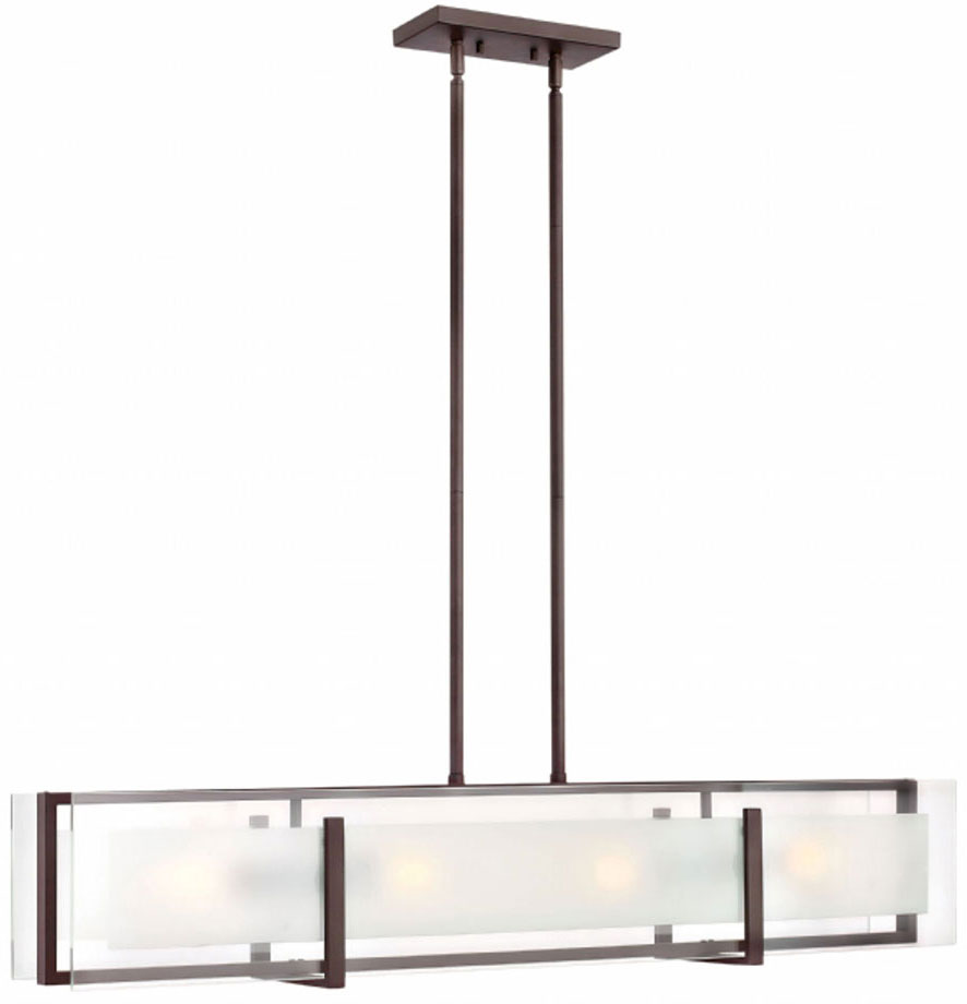 Oil Rubbed Bronze Kitchen Island Lighting Hinkley 3996oz Latitude Contemporary Oil Rubbed Bronze Kitchen
