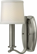 Hinkley 4180BN Clara Brushed Nickel Wall Sconce Light