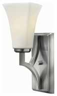Hinkley 4190BN Spencer Brushed Nickel Finish 13  Tall Wall Sconce Lighting