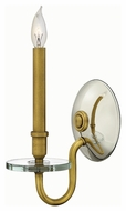 Hinkley 4200HB Everly Heritage Brass Finish 6.5  Wide Wall Mounted Lamp
