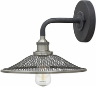 Hinkley 4360DZ Rigby Aged Zinc Lamp Sconce