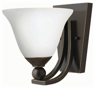 Hinkley 4650OB-OPAL Bolla Olde Bronze Finish 7.75  Wide Wall Sconce Light