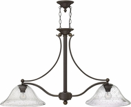 Hinkley 4662OB-CL Bolla Olde Bronze Kitchen Island Lighting