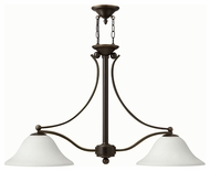 Hinkley 4662OB-OPAL Bolla Olde Bronze Finish 44.25  Wide Kitchen Island Lighting