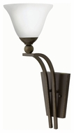 Hinkley 4670OB-OPAL Bolla Olde Bronze Finish 20.5  Tall Wall Sconce