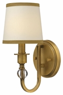 Hinkley 4870BR Morgan Brushed Bronze 12 Inch Tall Wall Lighting - Transitional