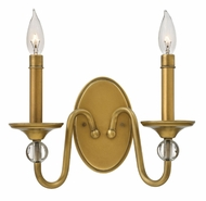 Hinkley 4952HB Eleanor Heritage Brass Wall Lighting