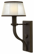 Hinkley 4960OB Prescott 14 Inch Tall Olde Bronze Wall Sconce Lighting