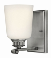 Hinkley 53320PL Annette Polished Antique Nickel Wall Light Fixture