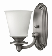 Hinkley 54260PL Plymouth Polished Antique Nickel Wall Mounted Lamp