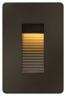 Hinkley 58504BZ LED Step Modern Bronze Finish 4.5  Tall LED Outdoor Wall Sconce Lighting