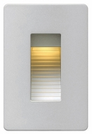 Hinkley 58504TT LED Step Modern Titanium Finish 4.5  Tall LED Outdoor Lighting Wall Sconce