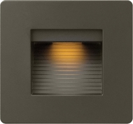 Hinkley 58506BZ Luna Contemporary Bronze LED Outdoor Wall Sconce Lighting