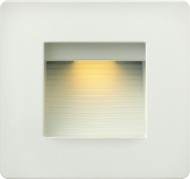 Hinkley 58506SW Luna Contemporary Satin White LED Outdoor Lighting Wall Sconce
