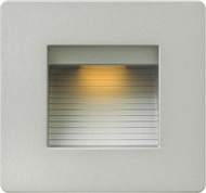 Hinkley 58506TT Luna Modern Titanium LED Exterior Wall Lighting Sconce