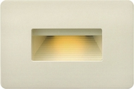 Hinkley 58508LA Luna Contemporary Light Almond LED Outdoor Wall Sconce Lighting