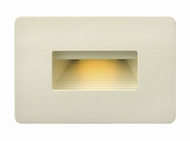 Hinkley 58508LA Luna Contemporary Light Almond LED Exterior Wall Light Fixture