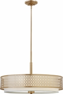 Hinkley FR35604BRG Jules Modern Brushed Gold Drum Drop Lighting Fixture