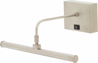 house of troy bsledr14 52 slim line satin nickel led battery operated art lighting art lighting battery operated