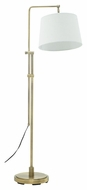 House of Troy CR700-AB Crown Point Antique Brass Finish 24  Wide Floor Lamp