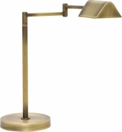 House of Troy D150-AB Delta Antique Brass LED Table Lighting