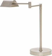 House of Troy D150-SN Delta Satin Nickel LED Table Lamp Lighting