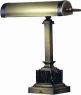 House of Troy DSK440-ABMB Steamer Antique Brass w/ Mahogany Bronze Accents Desk Lamp