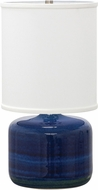 House of Troy GS120-BG Scatchard Blue Gloss Table Top Lamp