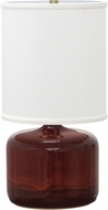 House of Troy GS120-CR Scatchard Copper Red Table Light