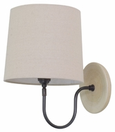 House of Troy GS725-OT Scatchard Oatmeal Finish 9  Wide Sconce Lighting