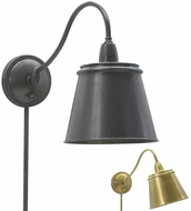 House of Troy HP725 Hyde Park Swing Arm Wall Lamp with Metal Shade