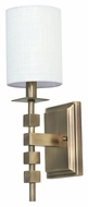 House of Troy LS204-AB Lake Shore Antique Brass Finish 6  Wide Wall Light Sconce