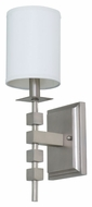 House of Troy LS204-SP Lake Shore Satin Pewter Finish 6  Wide Wall Light Sconce