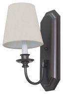 House of Troy LS208-MB Lake Shore Mahogany Bronze Finish 14.5  Tall Lighting Wall Sconce