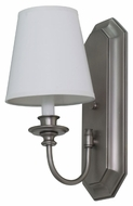 House of Troy LS208-SP Lake Shore Satin Pewter Finish 6  Wide Wall Lighting Sconce
