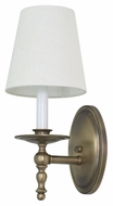 House of Troy LS213-AB Lake Shore Antique Brass Finish 13.5  Tall Wall Sconce Lighting