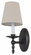 House of Troy LS213-MB Lake Shore Mahogany Bronze Finish 6  Wide Wall Mounted Lamp