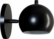 House of Troy ORB125-BLK Orbit Contemporary Black Fluorescent Wall Sconce