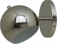 House of Troy ORB125-PN Orbit Modern Polished Nickel Fluorescent Wall Lamp