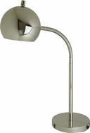 House of Troy ORB150-PN Orbit Contemporary Polished Nickel Fluorescent Lighting Table Lamp
