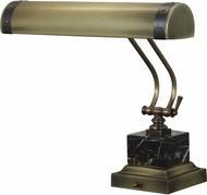 House of Troy P14-290-ABMB Steamer Antique Brass w/ Mahogany Bronze Accents Piano Light