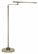 House of Troy SLED500-AB Slim-line Antique Brass Finish 47  Tall LED Task Floor Lamp Light