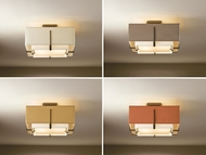 Hubbardton Forge 126507 Exos 16.6  Wide Ceiling Lighting