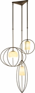Hubbardton Forge 136330 Treble Multi Hanging Lamp