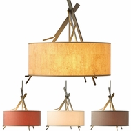 Hubbardton Forge 136620 Arbo Drum Pendant Lighting