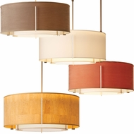 Hubbardton Forge 139607 Exos Drum Hanging Pendant Light